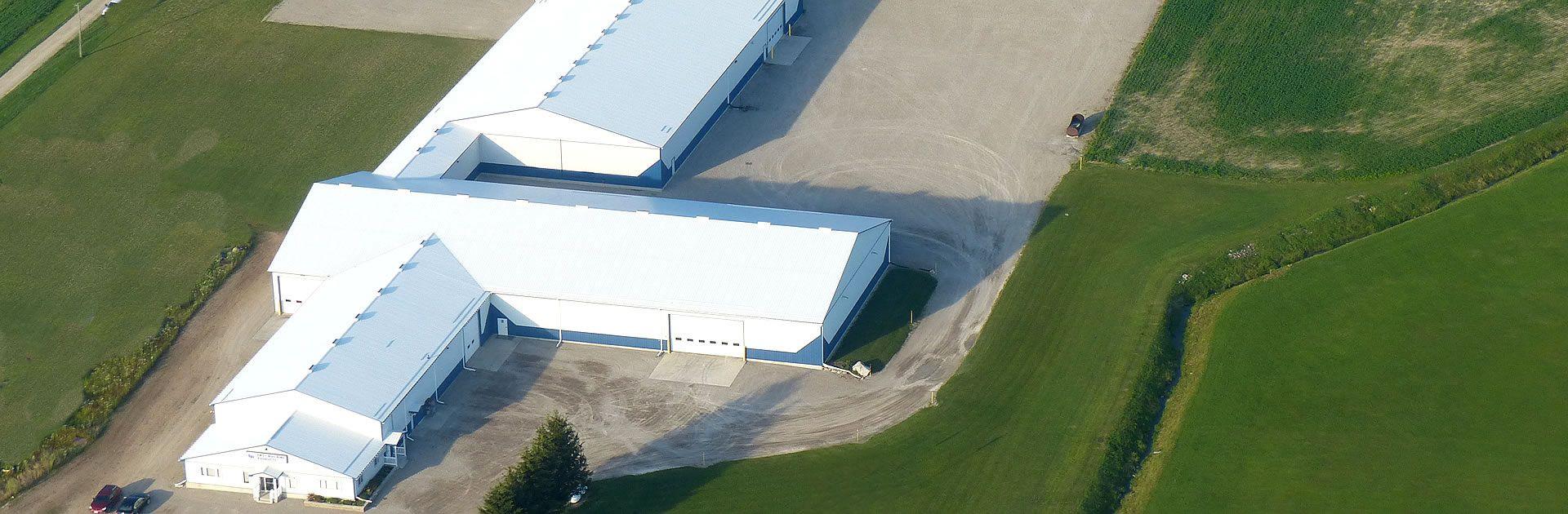 EBP Building aerial view